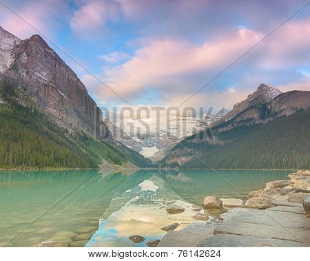 Lake Louise Early Light, Banff National Park