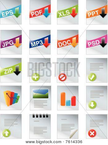 Webdesigners toolkit - web 2.0 icon set
