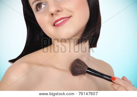 Girl With Brush