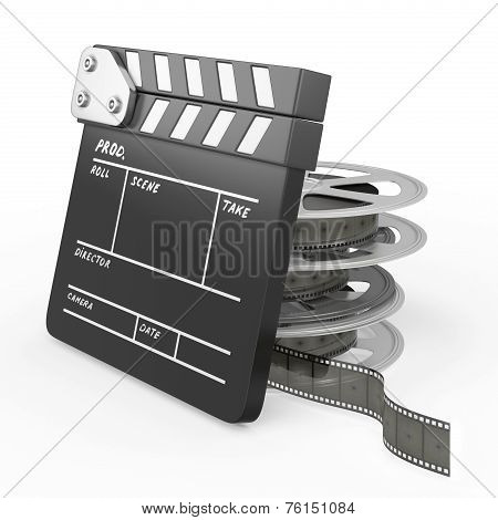 Film And Clapper Board