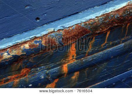 Rusty ship