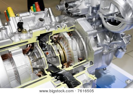 Automobile Electric Engine