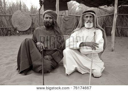 Two Arab Men