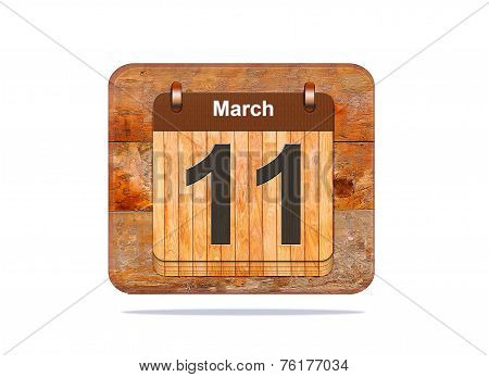 March 11.