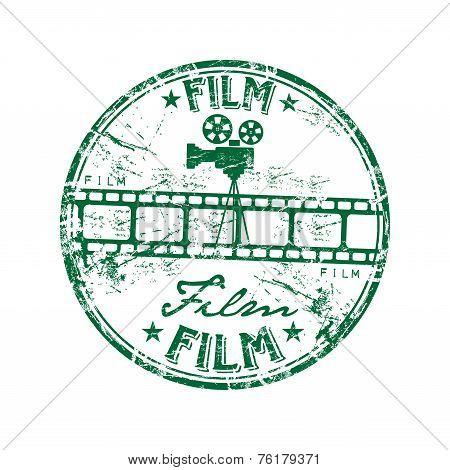 Film rubber stamp