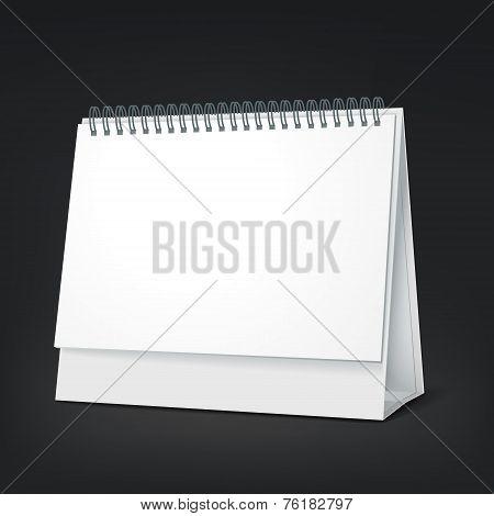 Standing Blank Calendar