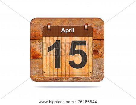 April 15.