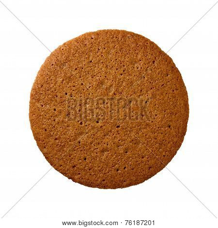 Ginger Snap Cookie Isolated