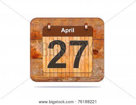 April 27.