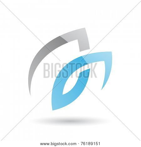 Abstract Icon Illustration isolated on a white background