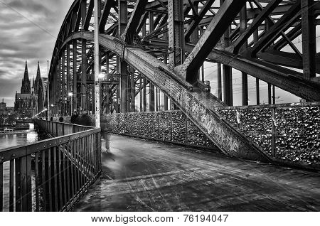 Bridge In Cologne