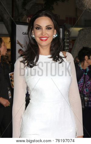 LOS ANGELES - NOV 3:  Bleona at the Dumb and Dumber To Premiere at the Village Theater on November 3, 2014 in Los Angeles, CA