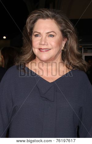 LOS ANGELES - NOV 3:  Kathleen Turner at the Dumb and Dumber To Premiere at the Village Theater on November 3, 2014 in Los Angeles, CA