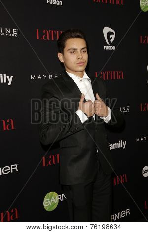 LOS ANGELES - NOV 13:  Jake T Austin at the Latina Magazine's '30 Under 30' Party at the Mondrian Hotel on November 13, 2014 in West Hollywood, CA