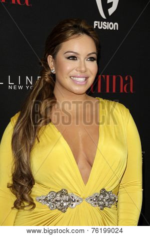 LOS ANGELES - NOV 13:  Chiquis at the Latina Magazine's '30 Under 30' Party at the Mondrian Hotel on November 13, 2014 in West Hollywood, CA