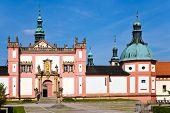 foto of bohemia  - famous baroque pilgrimage place Svata Hora  - JPG