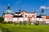stock photo of bohemia  - famous baroque pilgrimage place Svata Hora  - JPG