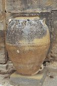 Ancient Minoan Big Pots From About  2000 Bc