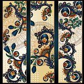 image of batik  - Paisley batik background - JPG