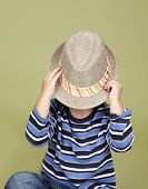 picture of fedora  - Kids children clothing and fashion - JPG