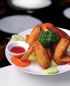 picture of chicken wings  - chicken wings - JPG