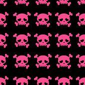 picture of skull crossbones  - skulls on crossbones - JPG