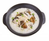 picture of porridge  - China Porridge or Dried Oysters with chicken Porridge - JPG