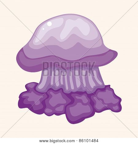 Jellyfish Theme Elements Vector,eps