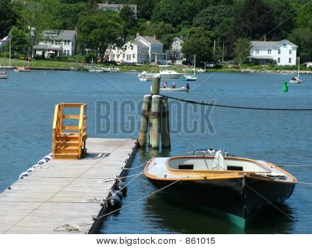 Recreation On A Lake