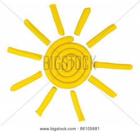Plasticine Sun