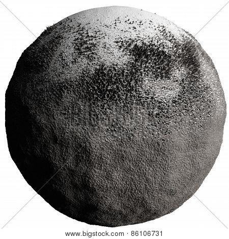 Snow comet