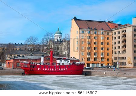 Helsinki. Finland. Lightship Relandersgrund