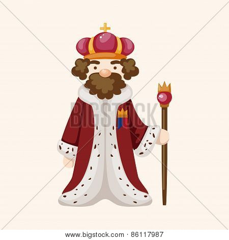 Royal Theme King Elements Vector,eps
