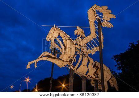 Pegasus Statue Diest