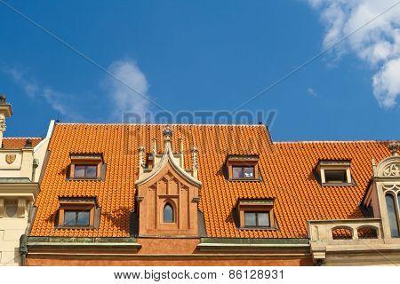 Roof In Prague