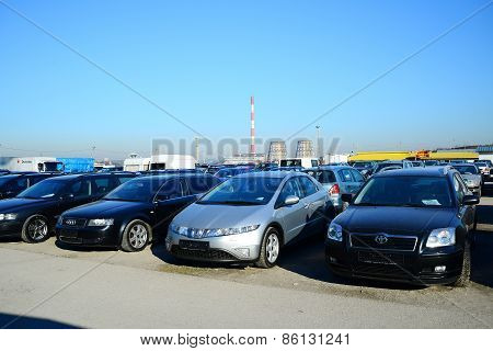 Market Of Second Hand Used Cars In Vilnius City