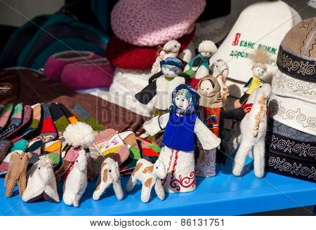 Ethnic Toys In The Market
