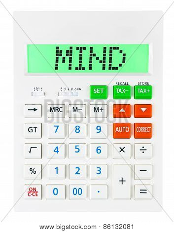 Calculator With Mind