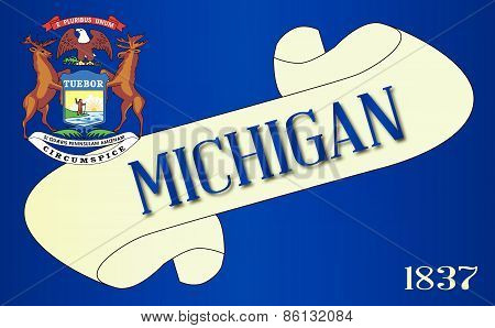 Michigan Scroll