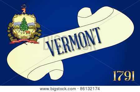 Vermont Scroll
