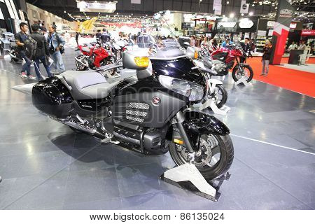 BANGKOK - MARCH 25: Honda motorcycle on display at The 36 th Bangkok International Motor Show on Mar