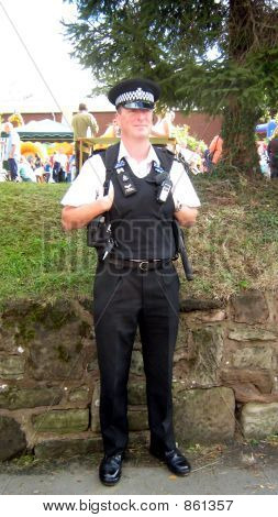 Policeman,sergeant at work.police uniform in UK
