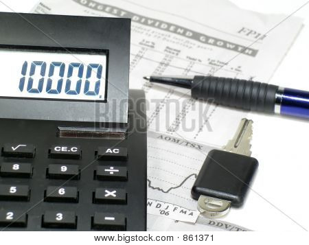 key to financial numbers
