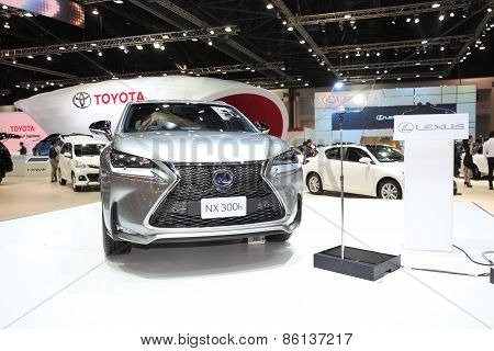 BANGKOK - MARCH 25: Lexus NX 300h car on display at The 36 th Bangkok International Motor Show on Ma