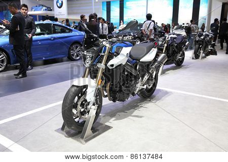 Bangkok - March 24: Bmw F800Z Motorcycles On Display At The 36 Th Bangkok International Motor Show O