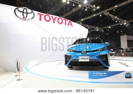 Bangkok - March 24: Toyota Mirai Car On Display At The 36 Th Bangkok International Motor Show On Mar