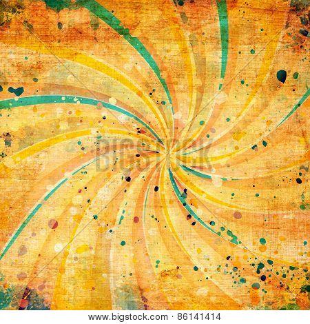 Grunge Twirl Background