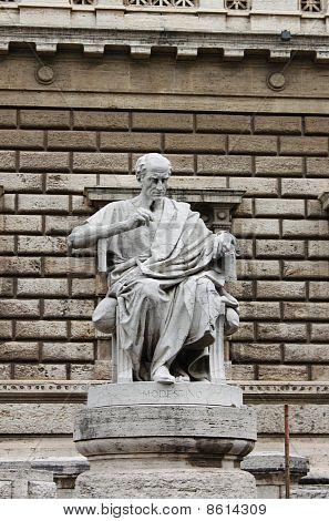 Meditating philosopher
