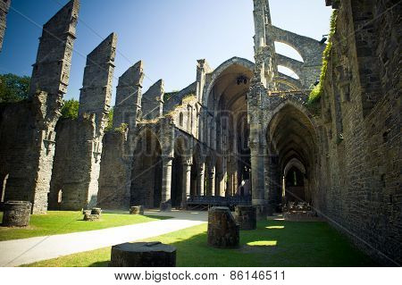 Abbey Of Villers La Ville, Church Ruin