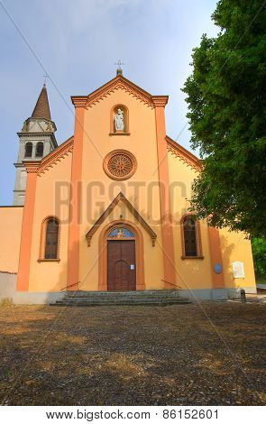 Church of St. Martino. Torrano. Emilia Romagna. Italy.